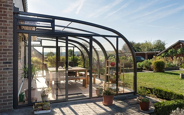 SAPHIR solar veranda - die kluge Terrassenüberdachung