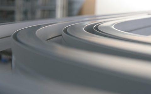 Milimitergenau gebogene Aluminiumprofile