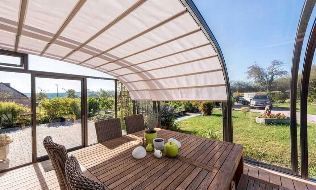 Die SAPHIR solar veranda ist der bessere Wintergarten