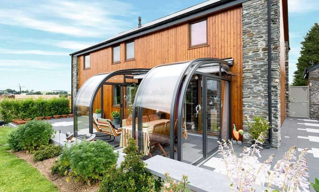 SAPHIR solar veranda Terrassen Glasdach