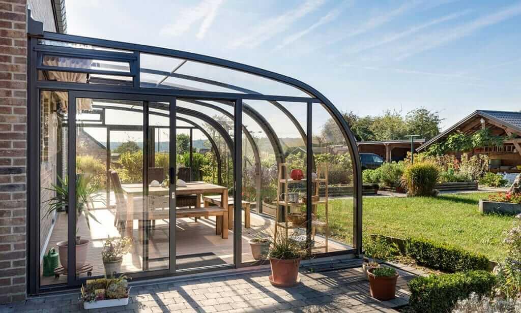 SAPHIR solar veranda günstige Terrassenüberdachung