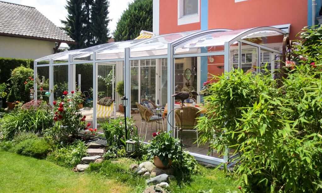 TOPAS solar veranda preiswerte Wintergarten Alternative